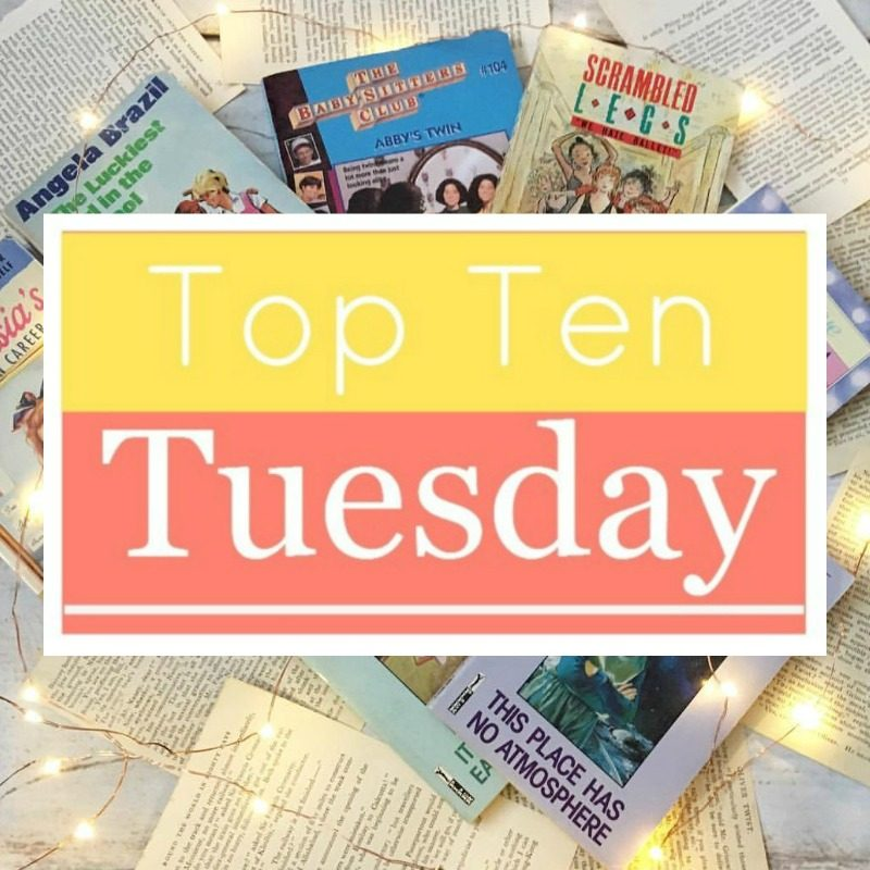 Top Ten Books I Almost Put Down But Didn't