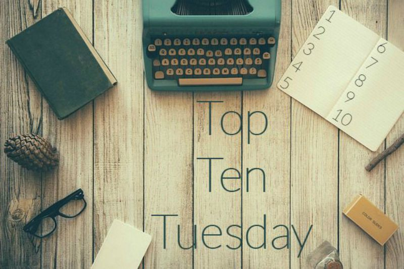 spring top ten tuesday