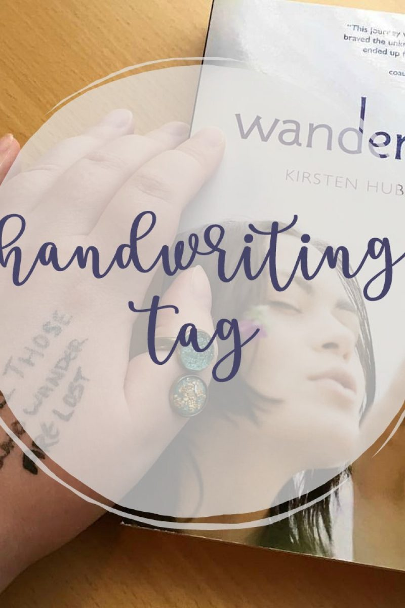 The Handwriting Tag