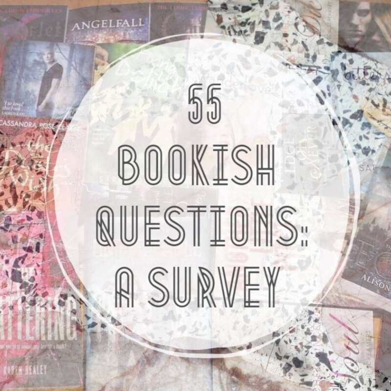 55 Bookish Questions: A Survey