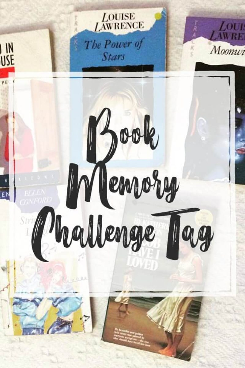 Book Memory Challenge Tag