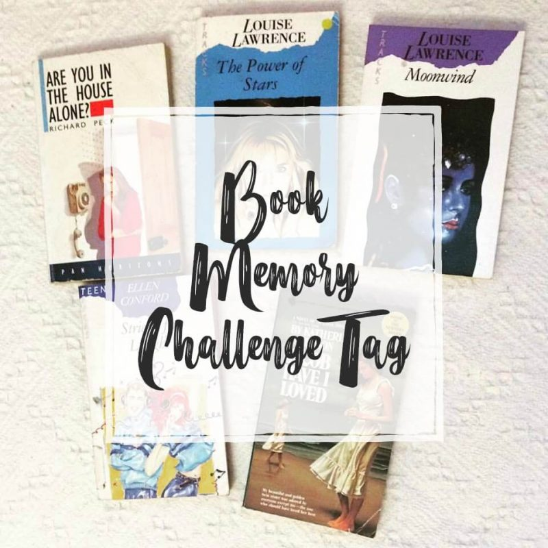 Book Memory Challenge Tag