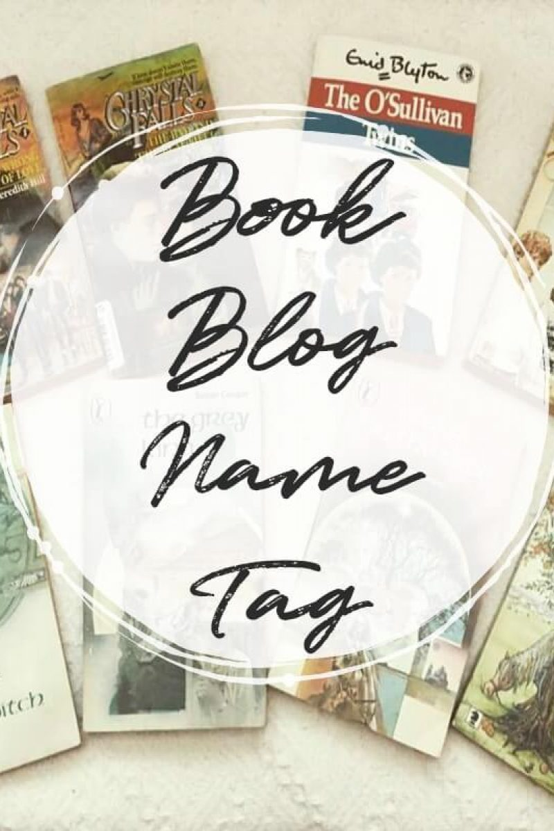 Book Blog Name Tag