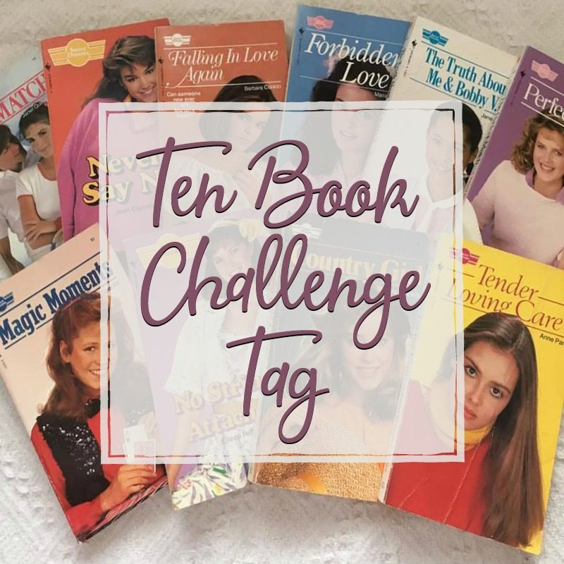 Ten Book Challenge Tag