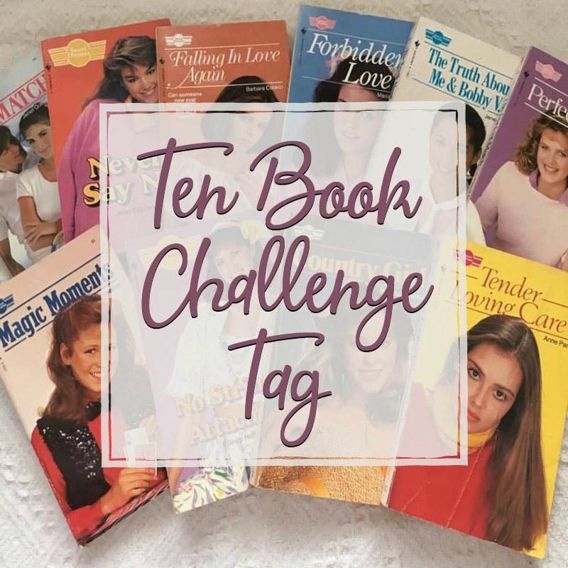ten book challenge cover