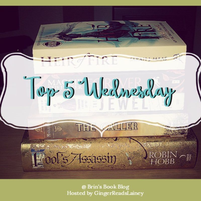 Top 5 Wednesday #1