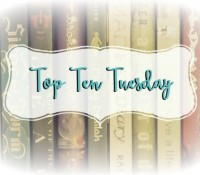 Top Ten Books On My TBR For Summer 2015