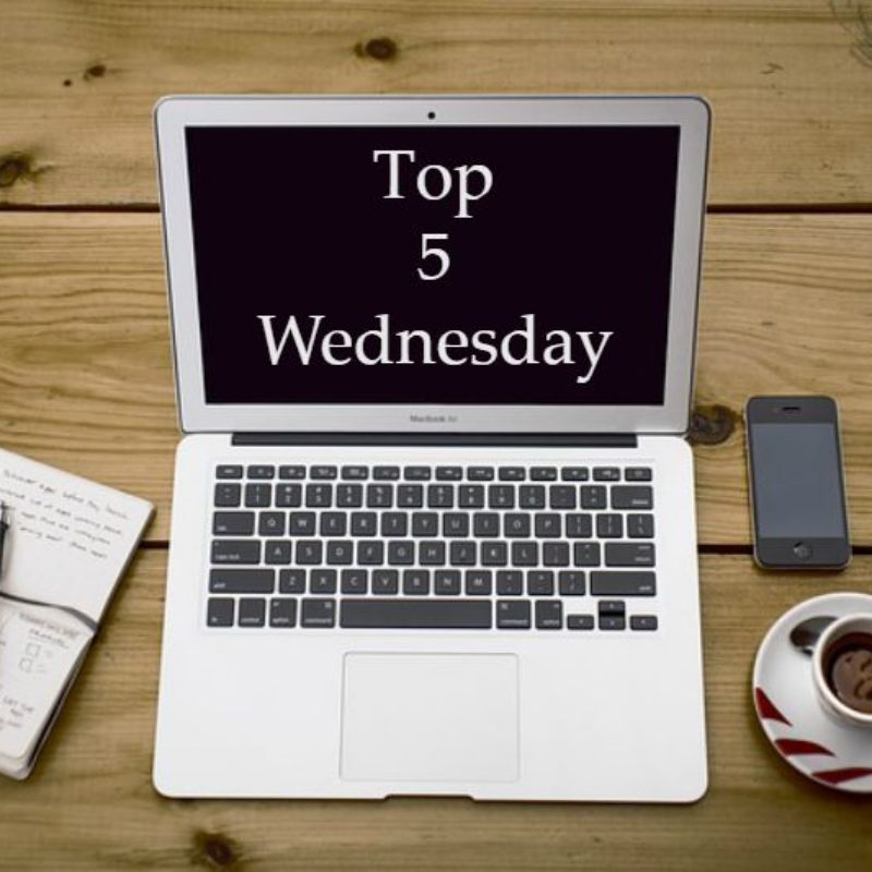 Top 5 Wednesday #7: Top Authors I Discovered This Year
