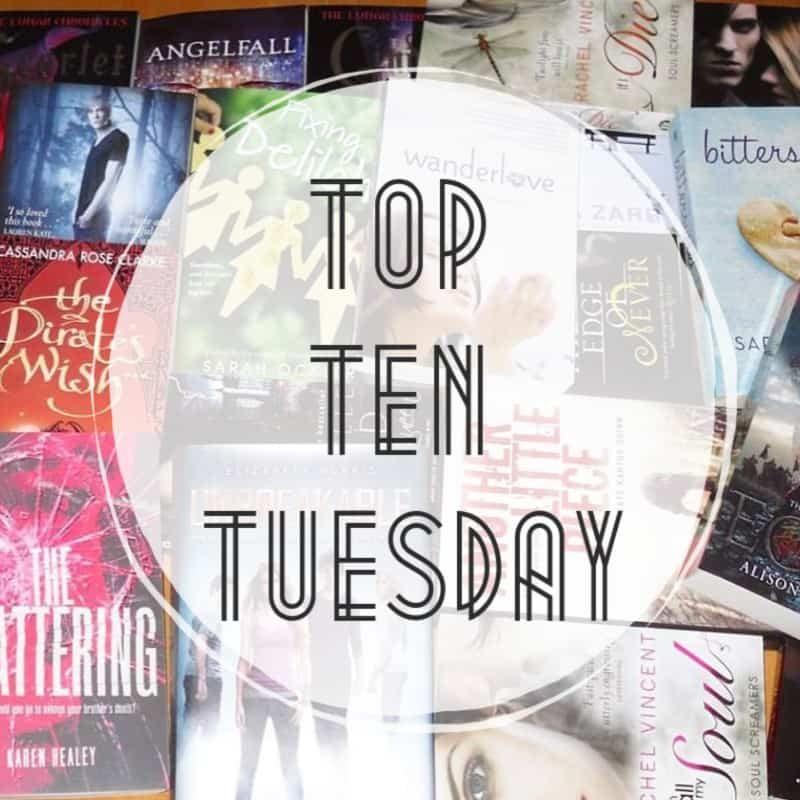 Top Ten Author Duos