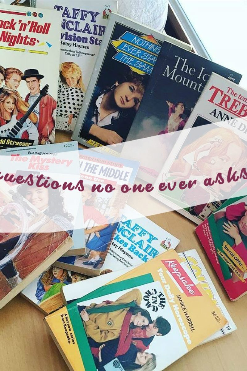 100 Questions no one ever asks tag