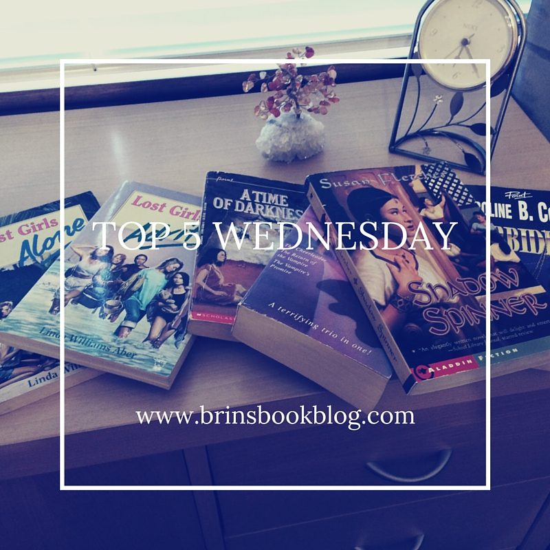 Top 5 Wednesday #11: Book Theme Songs
