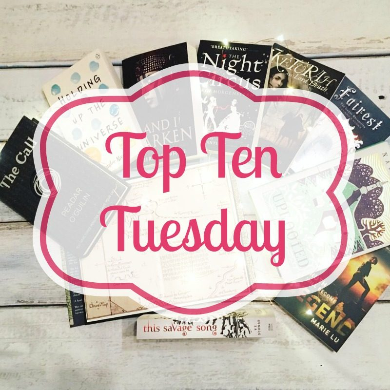 Top Ten Most Anticipated Books For The Second Half of 2017