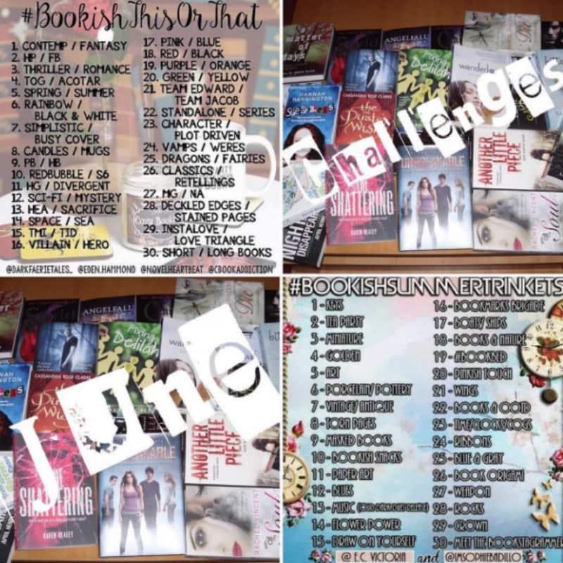 June Bookstagram Challenges: Day 9