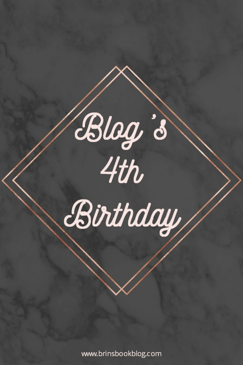 My Blog Turns 4 Today