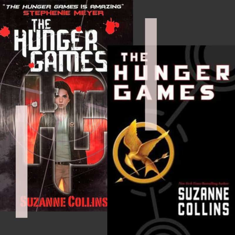 hunger games cover art non-horror scary book