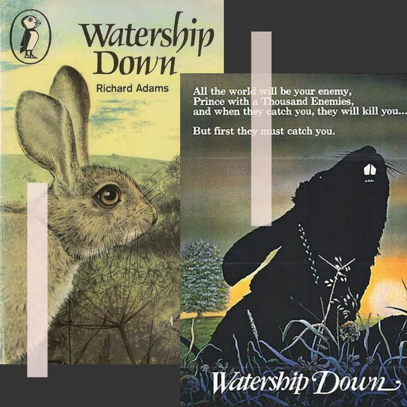watership down covert art non-horror scary book