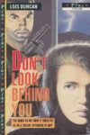 don't look behind you lois duncan cover art book haul