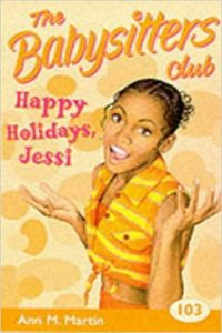 happy holidays jessi ann m martin cover art book stack