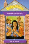 keep out, claudia ann m martin cover art book haul