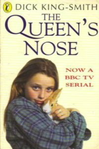 the queen's nose dick king-smith cover art book stack