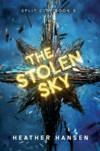 the stolen sky heather hansen cover art bookshelves