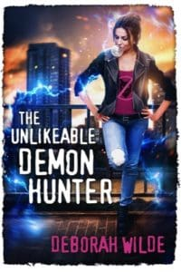 the unlikeable demon hunter deborah wilde cover art bookshelves