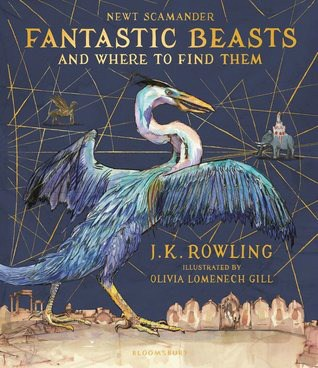 fantastic beasts and where to find them cover art christmas haul