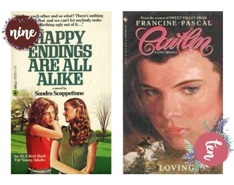 nostalgic books covers