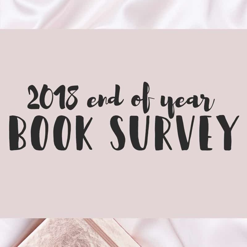 2018 End of Year Book Survey