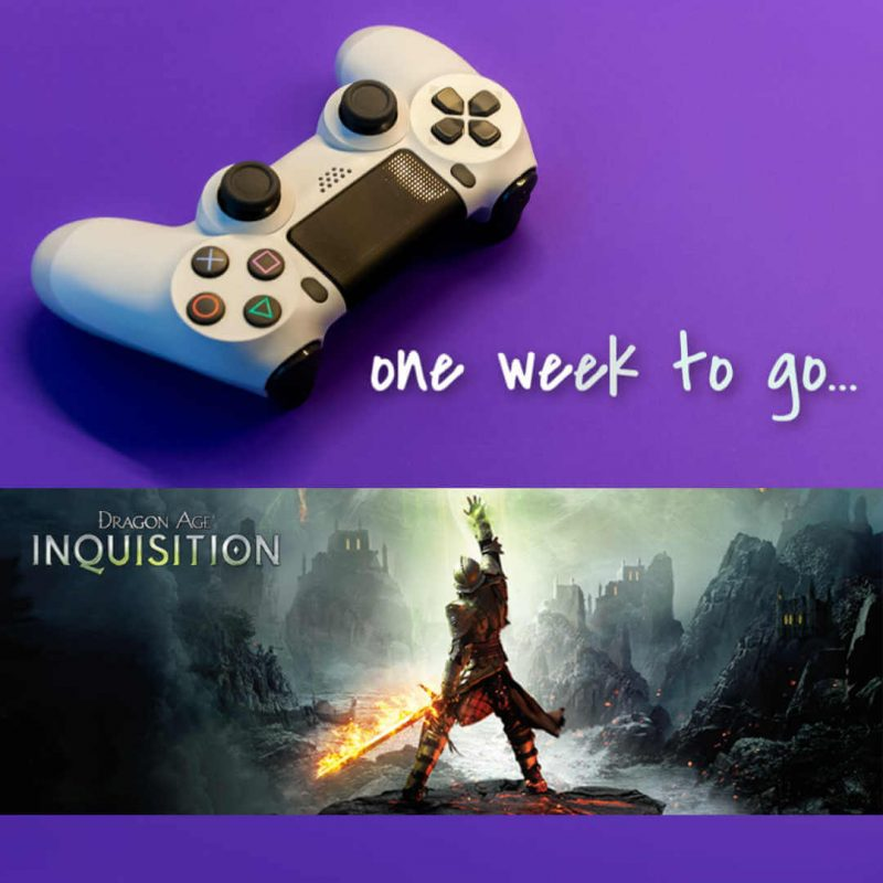 One week to Dragon Age: Inquisition…