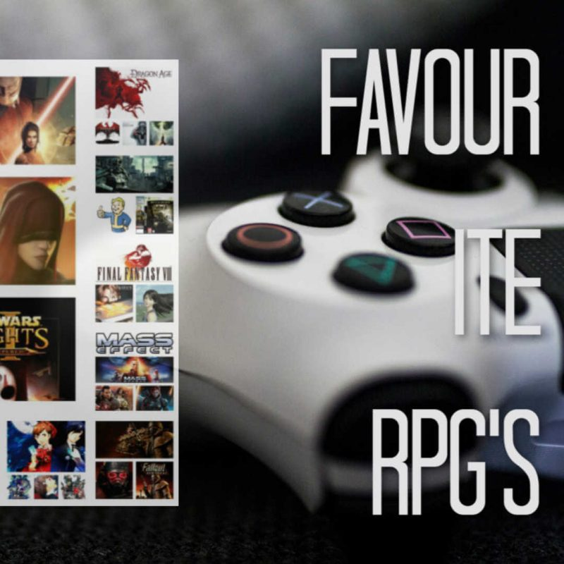 Favourite Role Playing Games