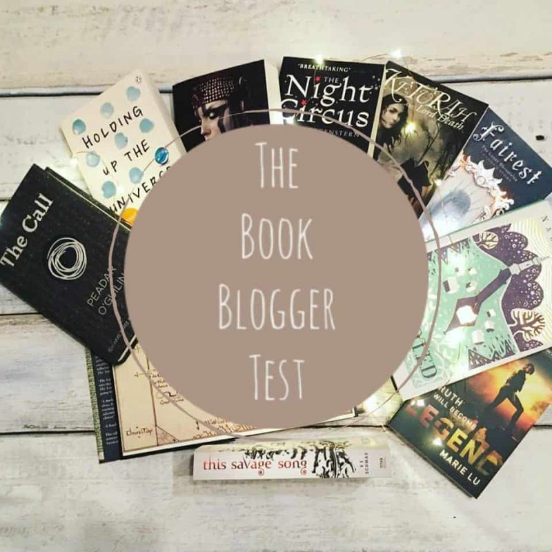 The Book Blogger Test