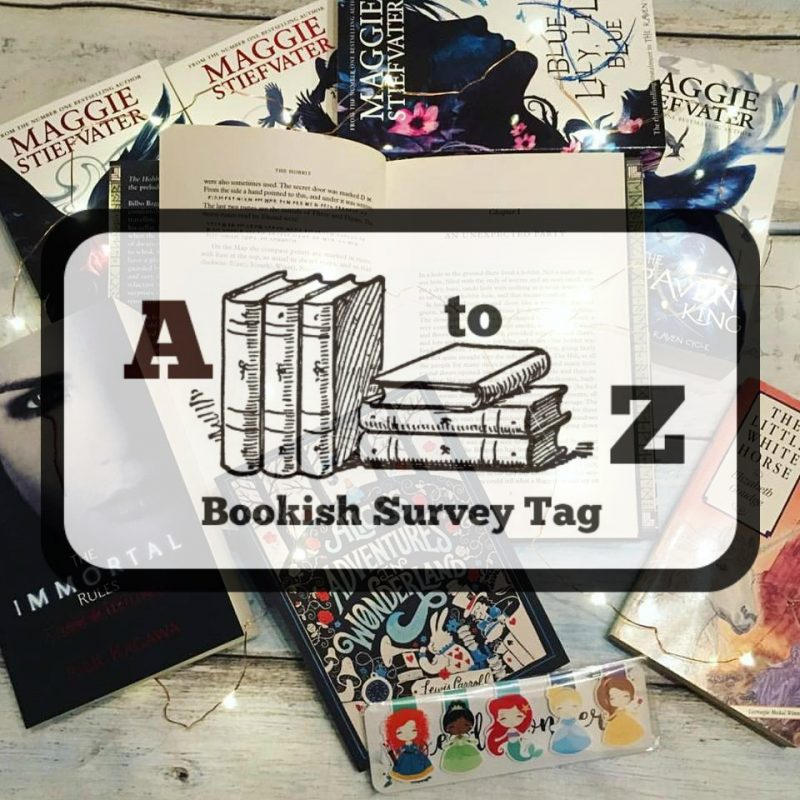 A to Z Bookish Survey Tag