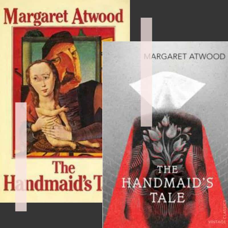 handmaid's tale cover art non-horror scary book