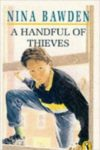 a handful of thieves nina bawden cover art book haul