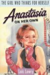 anastasia on her own lois lowry cover art book haul