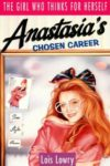 anastasia's chosen career lois lowry cover art book haul