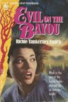 evil on the bayou richie tankersley cusick cover art book haul