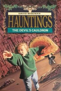 hauntings david wiseman cover art book stack