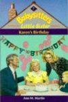 karen's birthday ann m martin cover art book haul