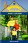 karen's little sister ann m martin cover art book haul