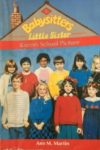 karen's school picture ann m martin cover art book haul