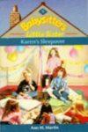 karen's sleepover ann m martin cover art book haul