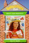 kristy for president ann m martin cover art book haul