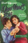 new year's eve caroline b cooney cover art book haul