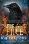 paper and fire rachel caine cover art book haul