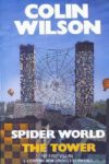 spider world the tower colin wilson cover art book haul