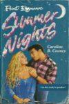 summer nights caroline b cooney cover art book haul