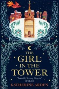the girl in the tower katherine arden cover art bookshelves