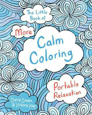 calm coloring cover art break
